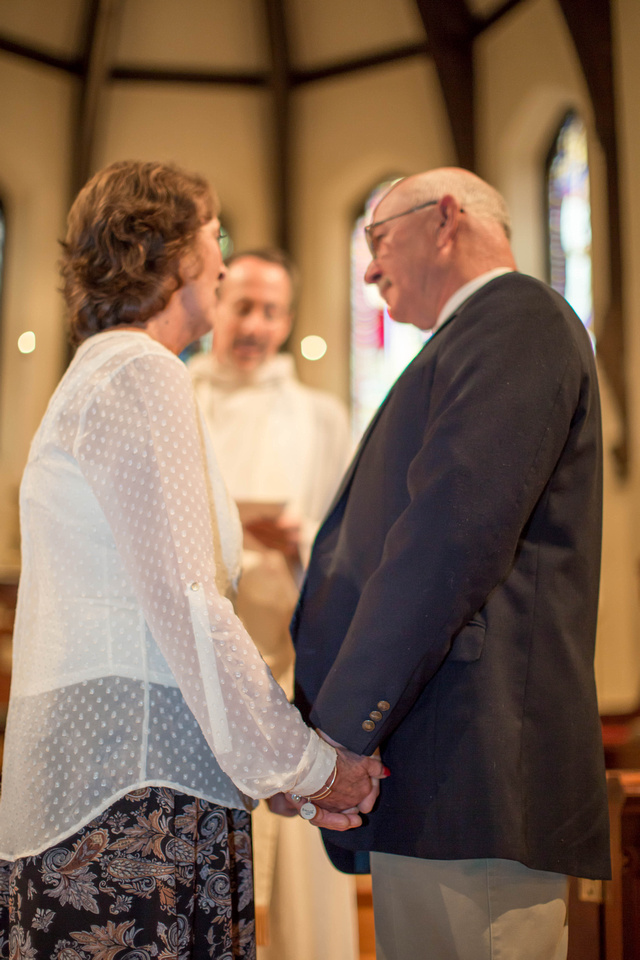 Diane and Richard's vow renewal