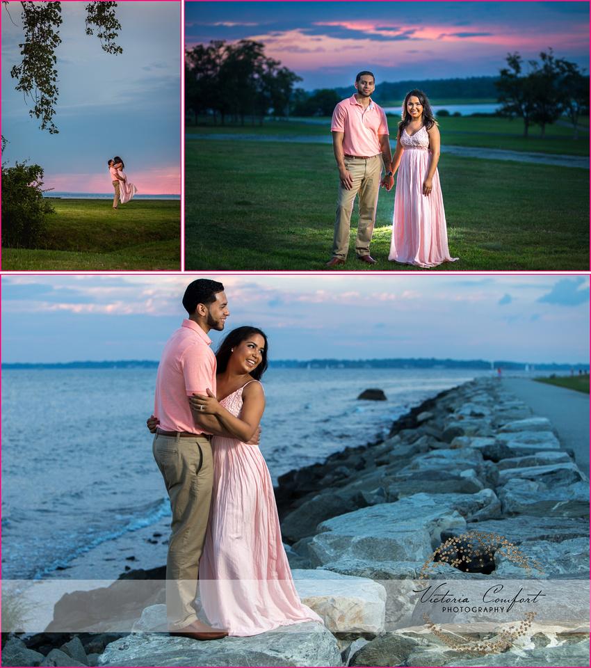 RI Photographer, Victoria Comfort, Engagement Photos, wedding pictured