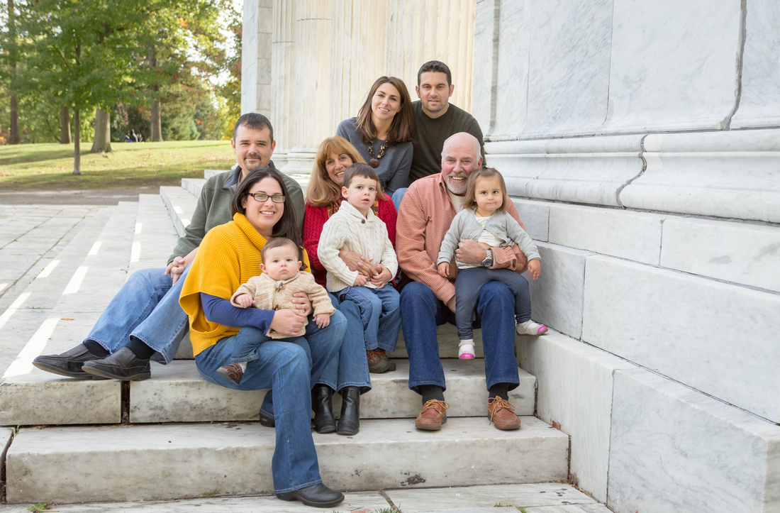 Family Portraits at Roger Williams Park